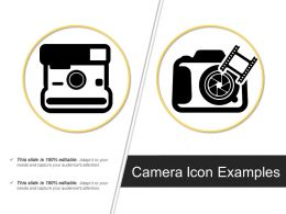 Camera Icon Examples