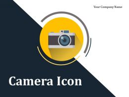 Camera Icon Flash Light Picture Image Capture