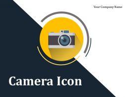 Camera Icon Flash Light Picture Image Capture