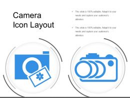 Camera Icon Layout