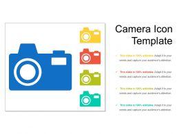 Camera Icon Template