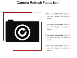 Camera Refresh Focus Icon