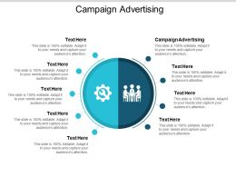 Campaign Advertising Ppt Powerpoint Presentation File Master Slide Cpb