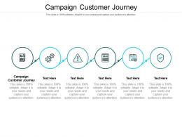 Campaign Customer Journey Ppt Powerpoint Presentation Inspiration Example Introduction Cpb