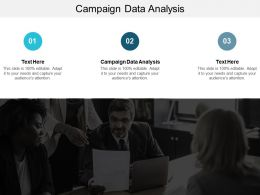 Campaign Data Analysis Ppt Powerpoint Presentation Model Good Cpb