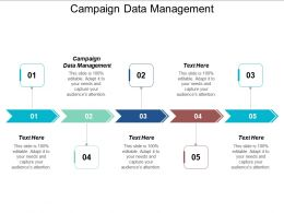 Campaign Data Management Ppt Powerpoint Presentation File Designs Cpb