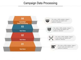 Campaign Data Processing Ppt Powerpoint Presentation Model Display Cpb