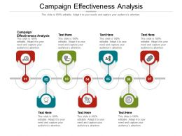 Campaign Effectiveness Analysis Ppt Powerpoint Presentation Infographics Background Designs Cpb