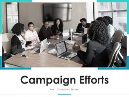 Campaign Efforts Analyst Business Campaign Measures Success Awareness