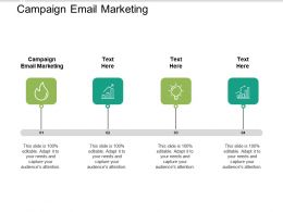 Campaign Email Marketing Ppt Powerpoint Presentation Infographic Template Inspiration Cpb