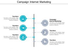 Campaign Internet Marketing Ppt Powerpoint Presentation Gallery Outfit Cpb