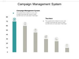 Campaign Management System Ppt Powerpoint Presentation Portfolio Background Images Cpb