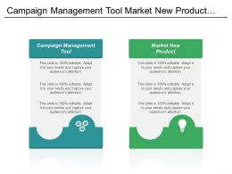 Campaign Management Tool Market New Product Web Marketing Cpb