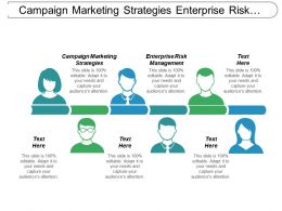 Campaign Marketing Strategies Enterprise Risk Management Finance Management Cpb
