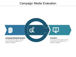 Campaign Media Evaluation Ppt Powerpoint Presentation Gallery Format Cpb