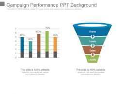 Campaign Performance Ppt Background
