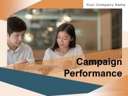 Campaign Performance Target Dashboard Assessment Analyzing Conversion Evaluation Graph