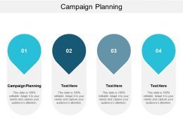 Campaign Planning Ppt Powerpoint Presentation Styles Background Images Cpb