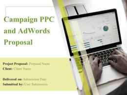 Campaign PPC And Adwords Proposal Powerpoint Presentation Slides