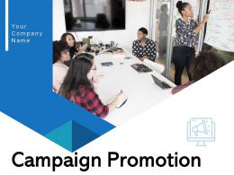 Campaign Promotion Goals Process Communication Evaluate Marketing Business Megaphone