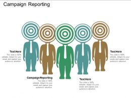 Campaign Reporting Ppt Powerpoint Presentation Gallery Infographics Cpb