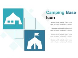 Camping Base Icon