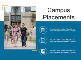 Campus Placements Powerpoint Images