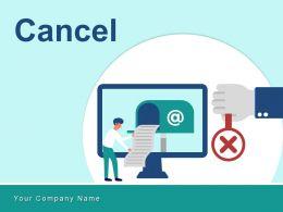 Cancel Business Document Cross Sign Telephone Location Calculator