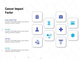 Cancer Impact Factor Ppt Powerpoint Presentation Show Guide
