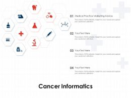 Cancer Informatics Ppt Powerpoint Presentation File Layouts