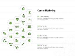 Cancer Marketing Ppt Powerpoint Presentation File Inspiration