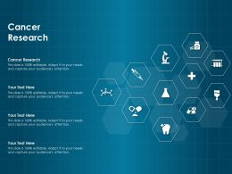 Cancer Research Ppt Powerpoint Presentation Gallery Graphics Design