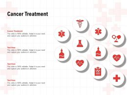Cancer Treatment Ppt Powerpoint Presentation Portfolio Infographic Template