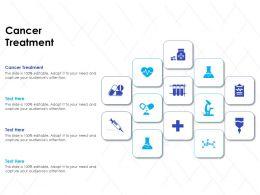 Cancer Treatment Ppt Powerpoint Presentation Show Slide Download