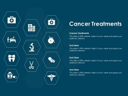 Cancer Treatments Ppt Powerpoint Presentation Pictures Files
