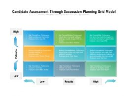 Candidate Assessment Through Succession Planning Grid Model