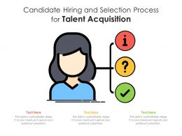 Candidate Hiring And Selection Process For Talent Acquisition