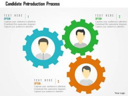Candidate Introduction Process Flat Powerpoint Design