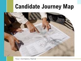 Candidate Journey Map Professional Growth Development Motivation Improvement