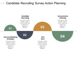 Candidate Recruiting Survey Action Planning Success Marketing Strategies Cpb
