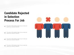 Candidate Rejected In Selection Process For Job