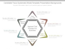 Candidate Trace Systematic Model Template Presentation Backgrounds