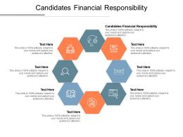 Candidates Financial Responsibility Ppt Powerpoint Presentation Infographic Cpb