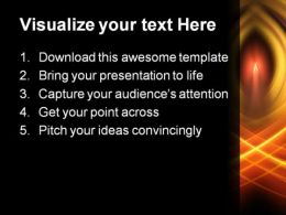 Candle Light Religion PowerPoint Template 0610  Presentation Themes and Graphics Slide02