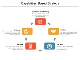 Capabilities Based Strategy Ppt Powerpoint Presentation Pictures Files Cpb