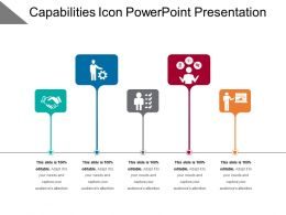 Capabilities Icon Powerpoint Presentation