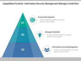 Capabilities Pyramid Information Security Management Manage Credit Risk