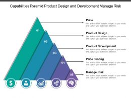 Capabilities Pyramid Product Design And Development Manage Risk