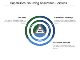 Capabilities Sourcing Assurance Services Technology Environment Research Services
