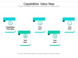 Capabilities Value Map Ppt Powerpoint Presentation Ideas Model Cpb